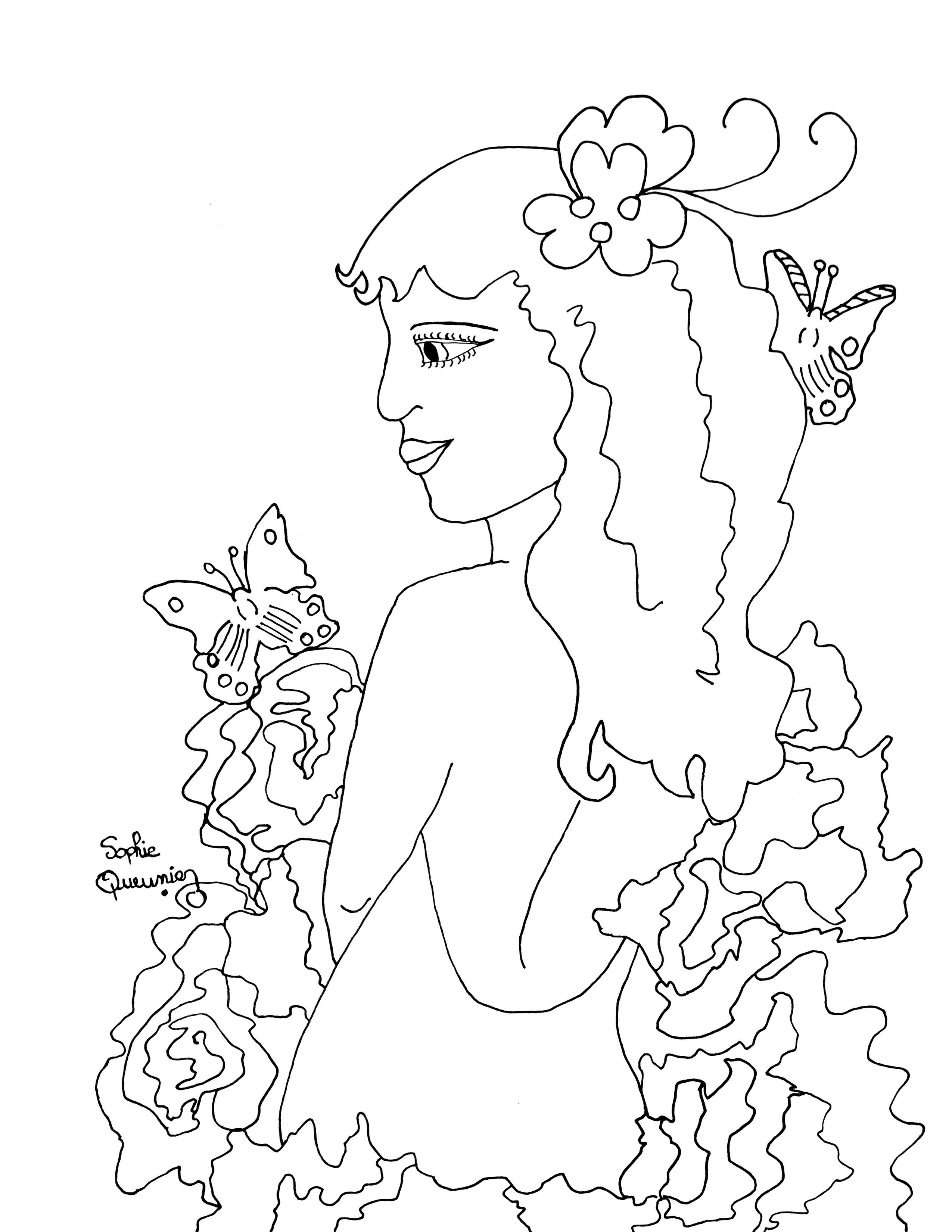 2550x3300 Free Coloring Pages Adult Coloring Worldwide