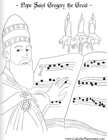 350x453 Saints Coloring Pages Catholic Playground