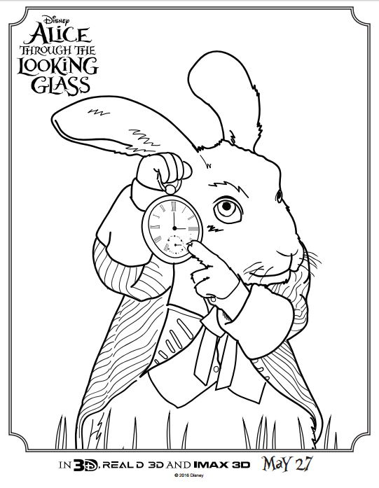 Alice Coloring Page