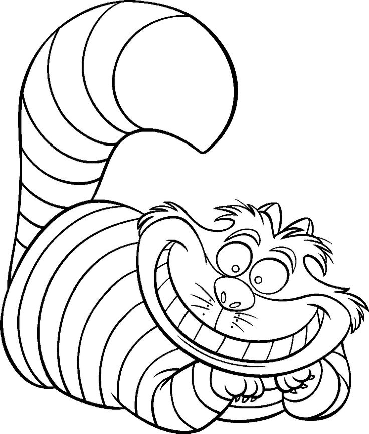736x865 Top Alice Coloring Pages