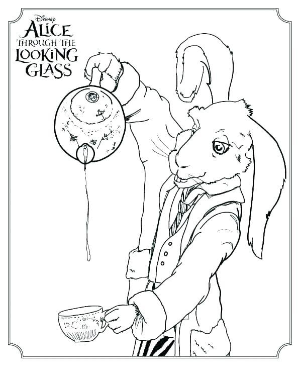 595x768 Alice In Wonderland Caterpillar Coloring Pages Alice In Wonderland