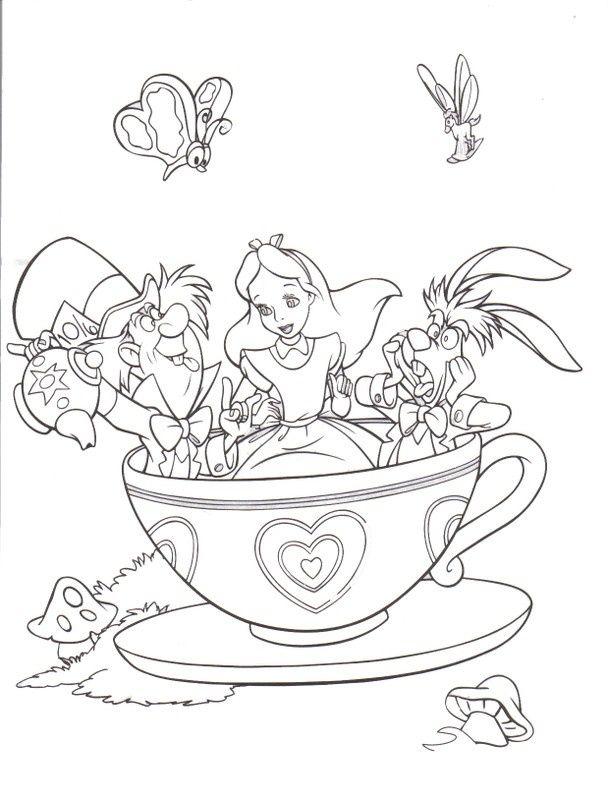 608x800 Alice In Wonderland Queen Of Hearts Disney Drawing
