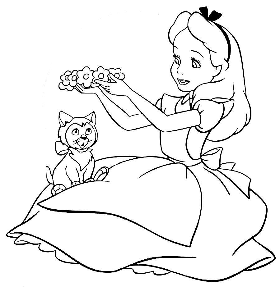 900x924 Alice Wonderland Coloring Pages Disney Picture El On Mad Hatter