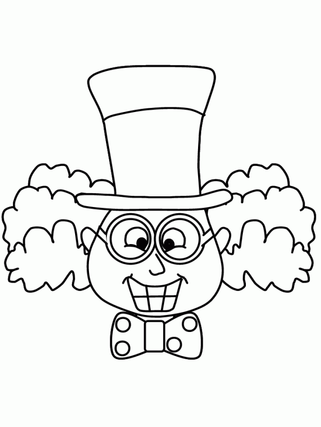 624x831 Mad Hatter Coloring Pages