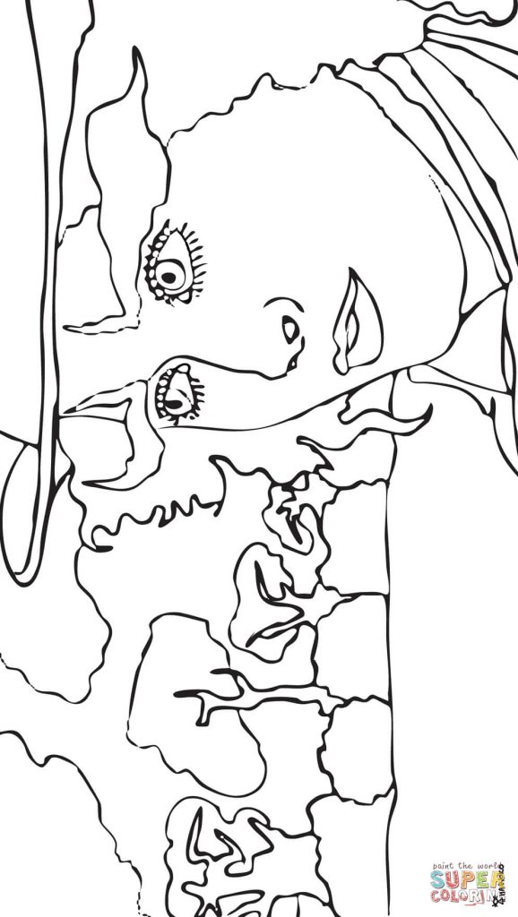 578x1024 Mad Hatter For Coloring Page