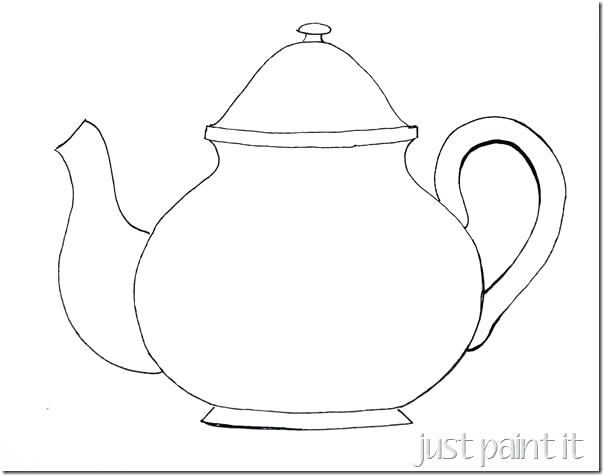 603x475 Mad Hatter Serving Tea In Alice In Wonderland Coloring Page