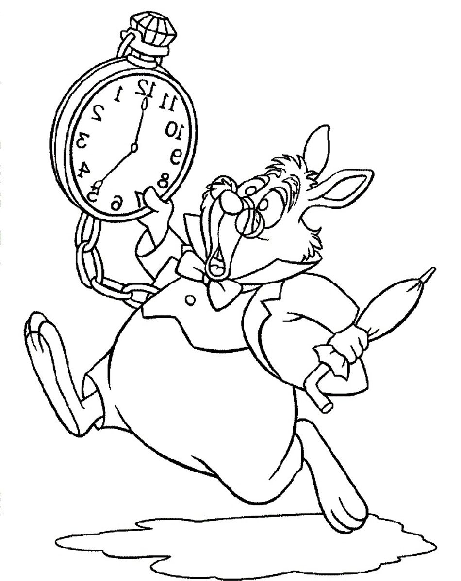 950x1199 Last Chance Alice In Wonderland Coloring Pages Tim Burton White