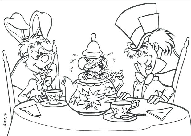 620x443 Alice In Wonderland Coloring Pages Alice In Wonderland Coloring