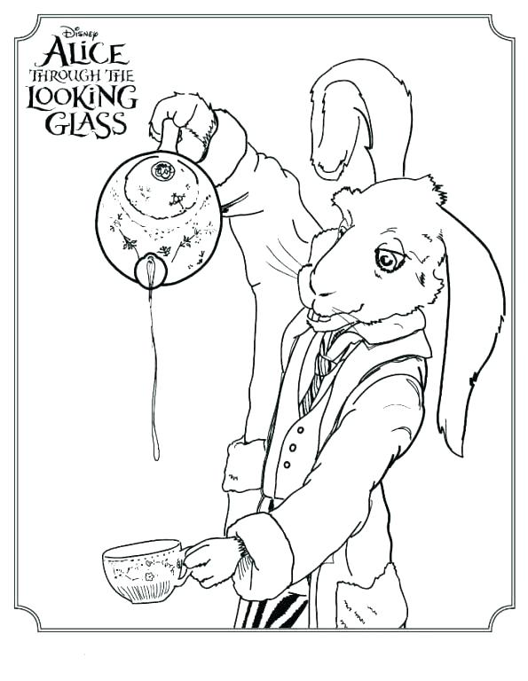 595x768 Coloring Pages Alice In Wonderland Coloring Pages In Wonderland