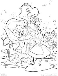 200x259 Alice In Wonderland Coloring Page Alice In Wonderland Coloring