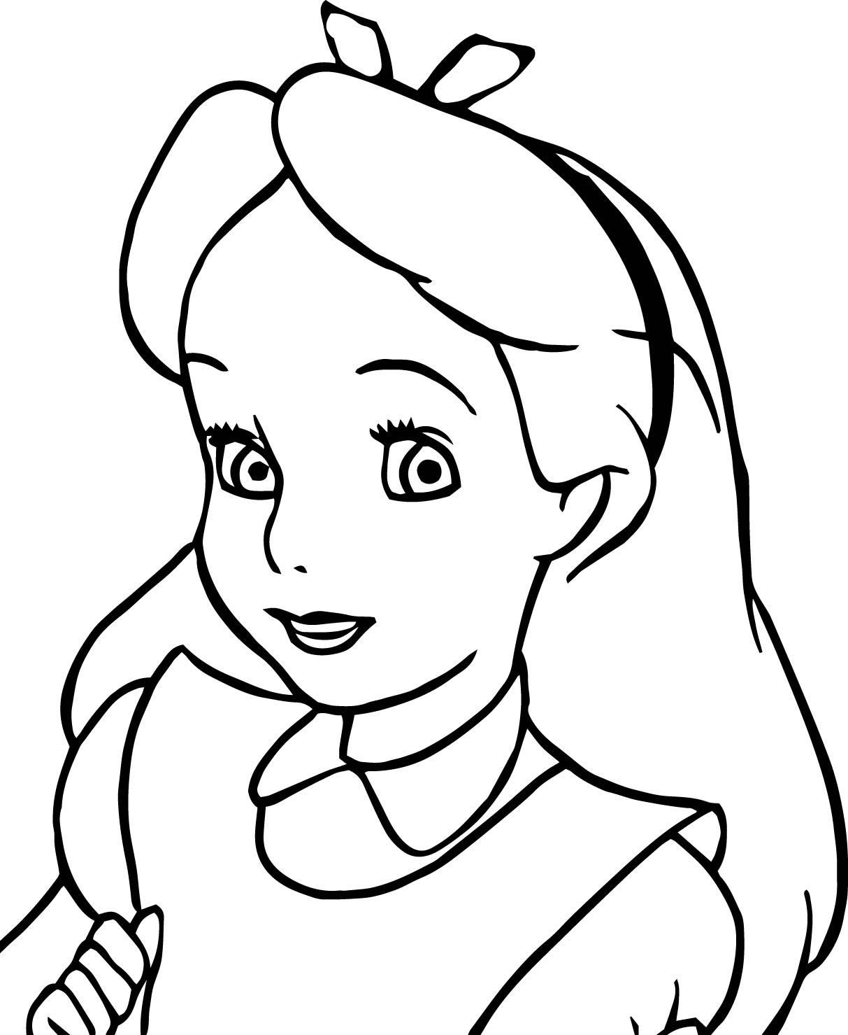 1213x1479 Alice Coloring Pages