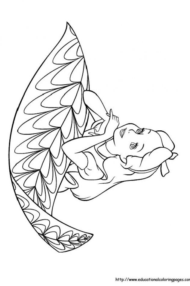 632x950 Alice In Wonderland Educational Fun Kids Coloring Pages