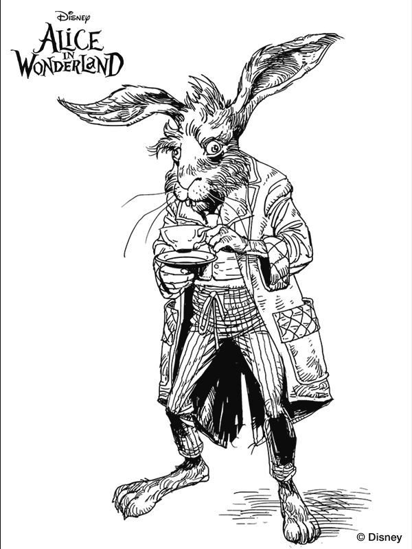 600x800 American Mcgee's Alice Coloring Pages