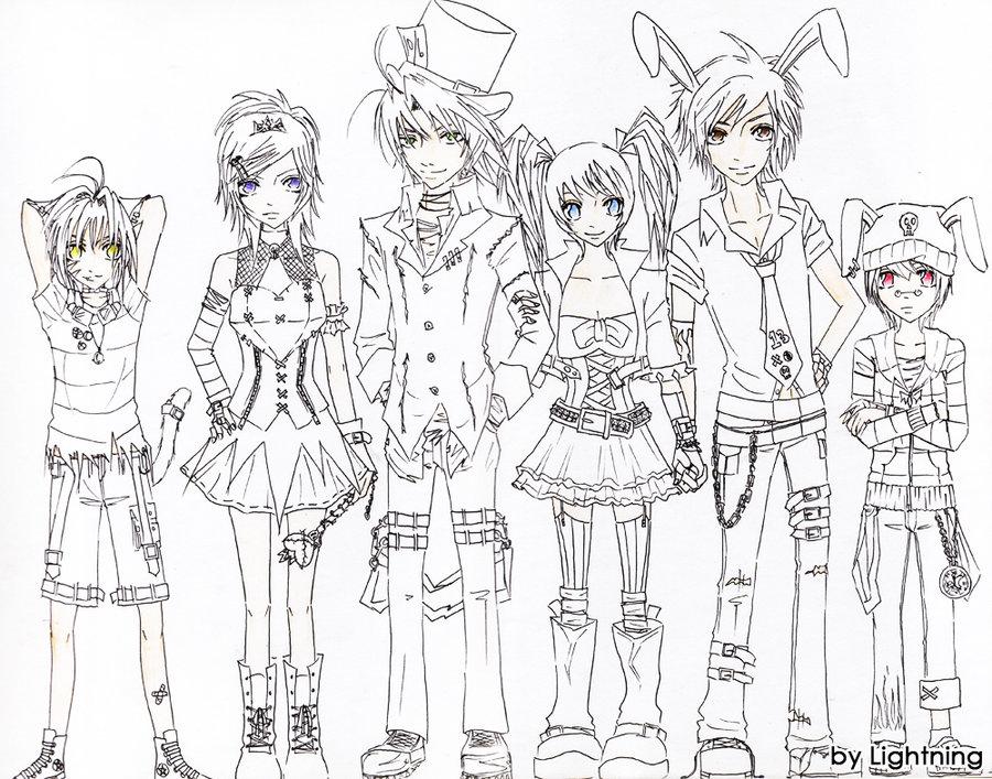 900x707 Anime Alice In Wonderland Drawings