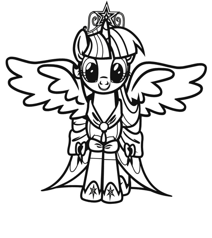 Alicorn Coloring Pages at GetDrawings | Free download