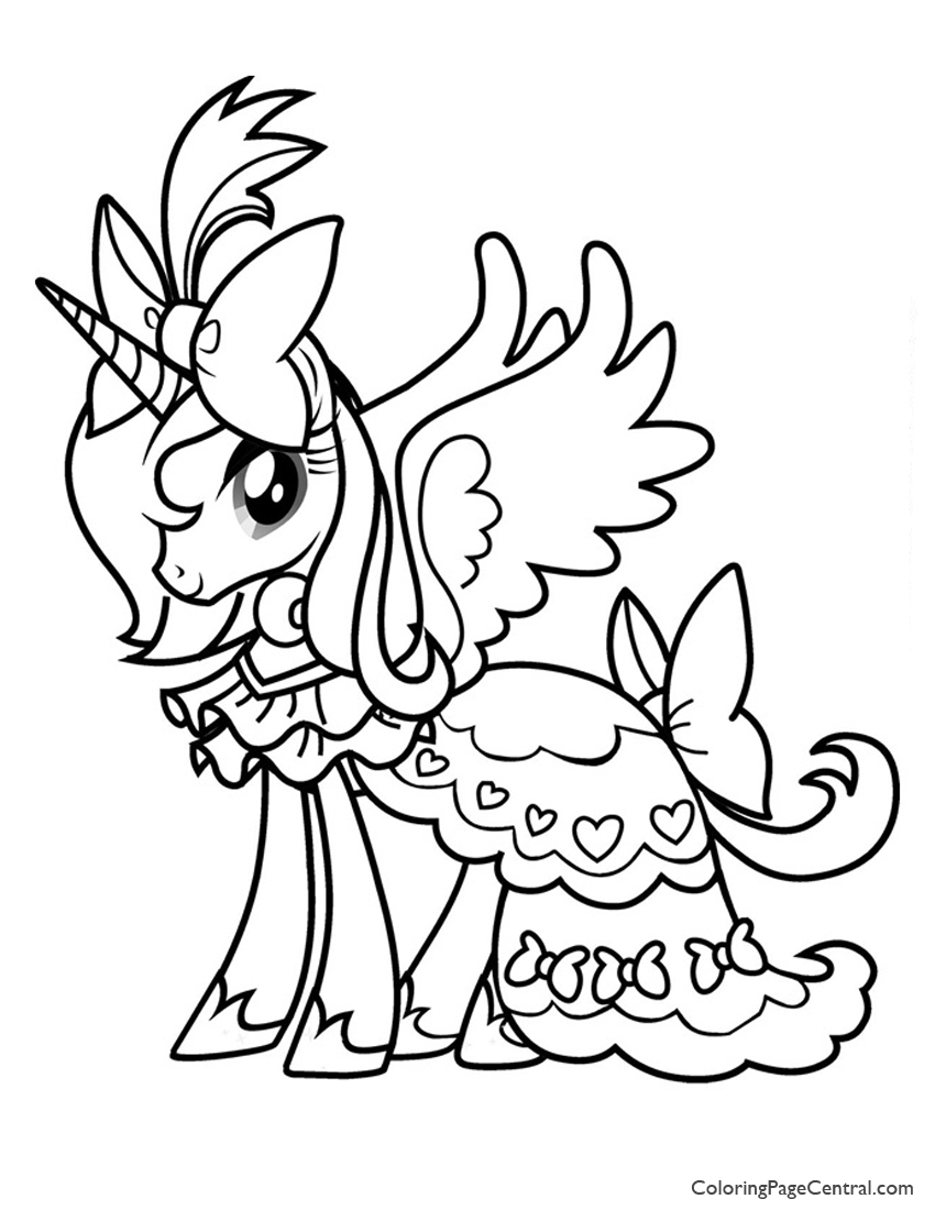 Alicorn Coloring Pages at GetDrawings   Free download