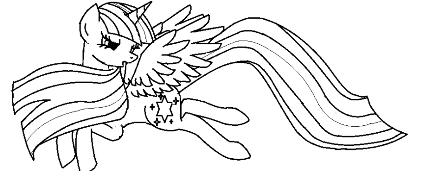 The Best Free Alicorn Coloring Page Images Download From 99 Free