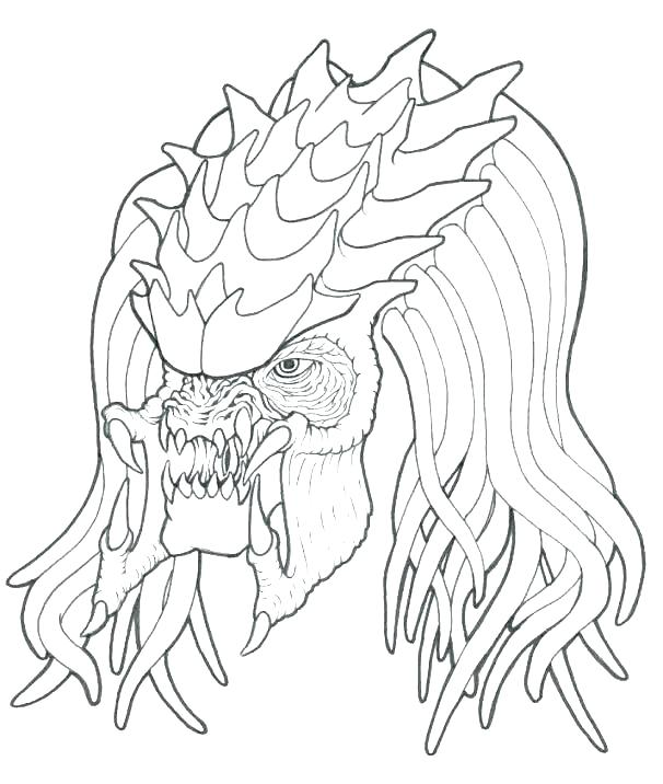 The Best Free Predator Coloring Page Images Download From 104 Free Coloring Pages Of Predator At Getdrawings