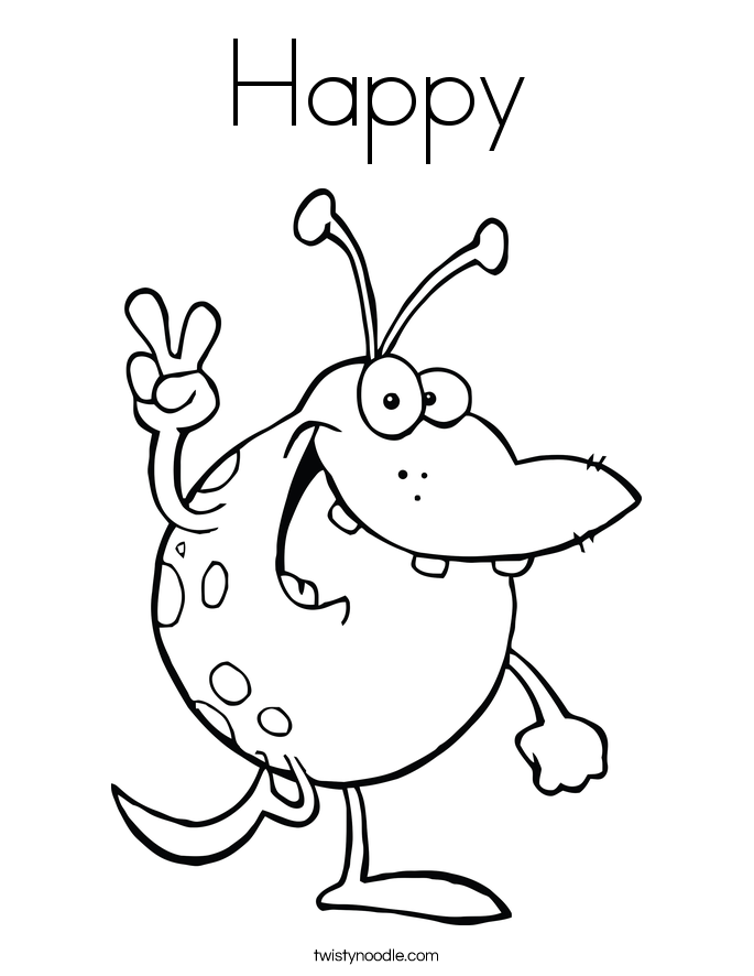 685x886 Monster And Alien Coloring Pages