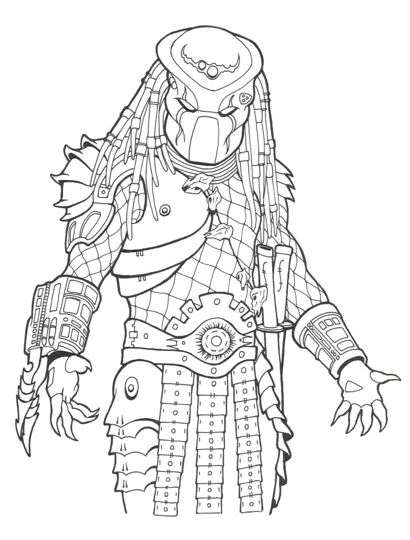 832x1096 Avp Coloring Pages