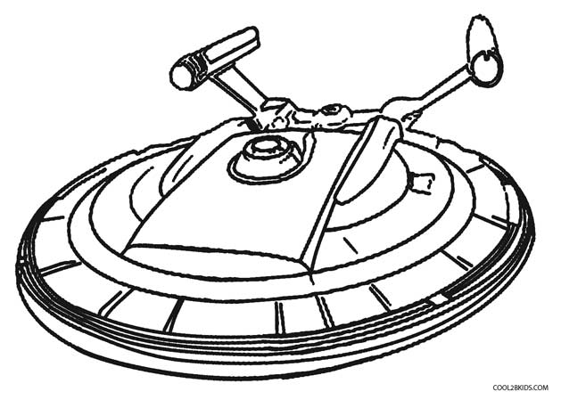 629x449 Printable Alien Coloring Pages For Kids