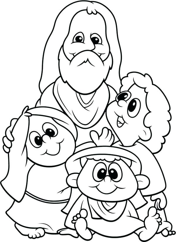 600x824 Little Kid Coloring Pages