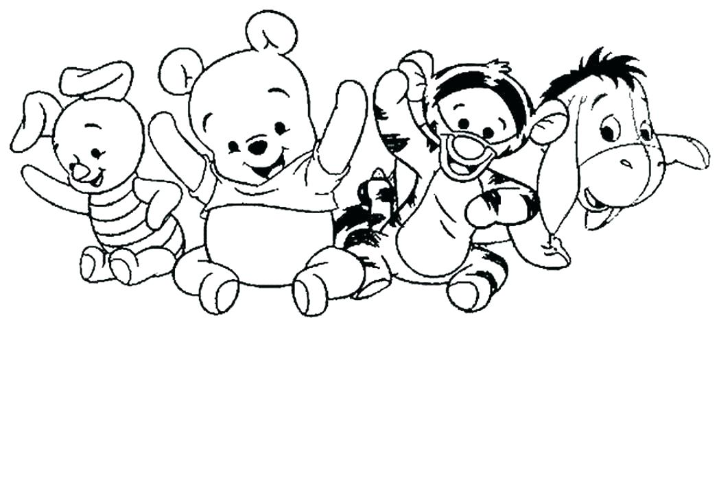 1048x702 Cute Baby Looney Tunes Coloring Pages Babies Legendary Card Tiger
