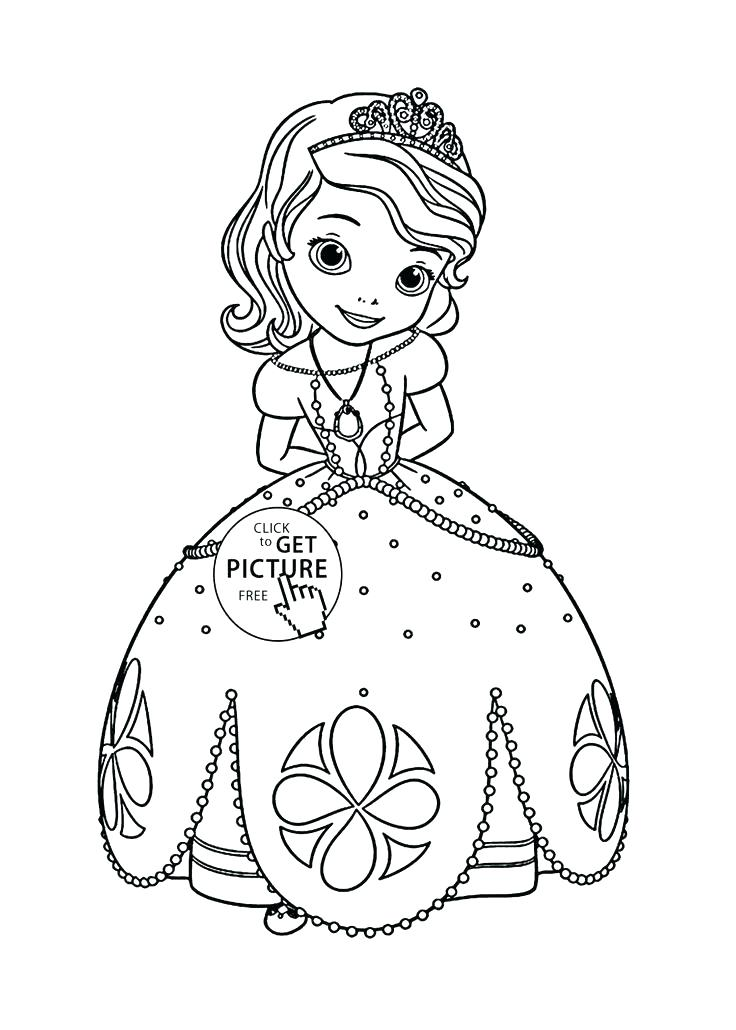 736x1030 Baby Princess Coloring Pages Image Coloring Princess Disney