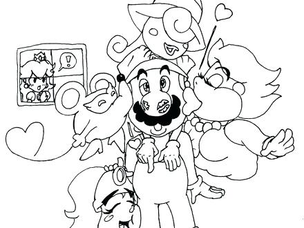 440x330 Paper Mario Coloring Pages Paper Free Coloring Pages Paper Mario