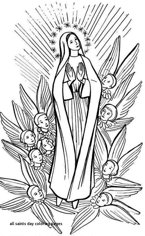 All Saints Coloring Pages