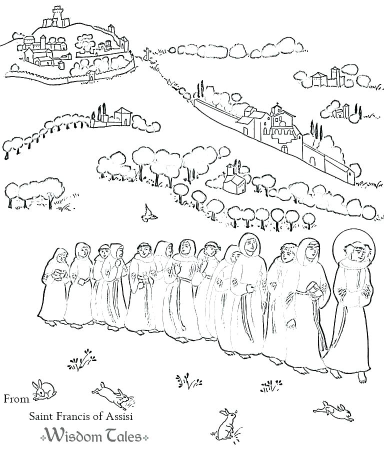 768x902 All Saints Day Coloring Pages Free All Saints Day Coloring Pages
