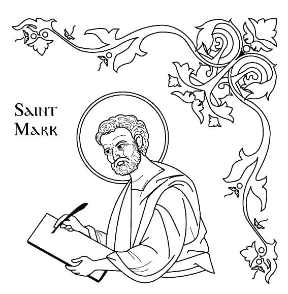 567x578 All Saints Day Coloring Pages Printable Coloring Pages Of Saints