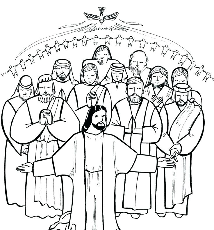 736x789 All Souls Day Coloring Pages All Saints Day Coloring Pages