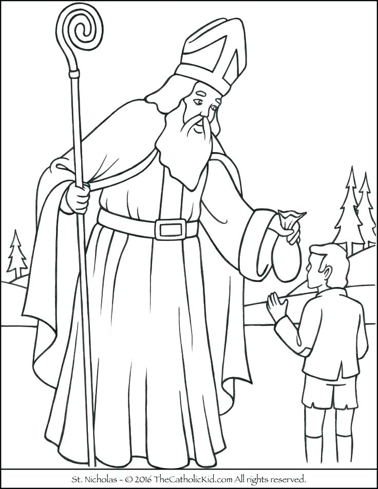 736x952 Saints Coloring Pages All Saints Day Coloring Page Best Catholic