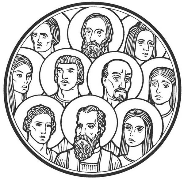 600x588 All Saints Day