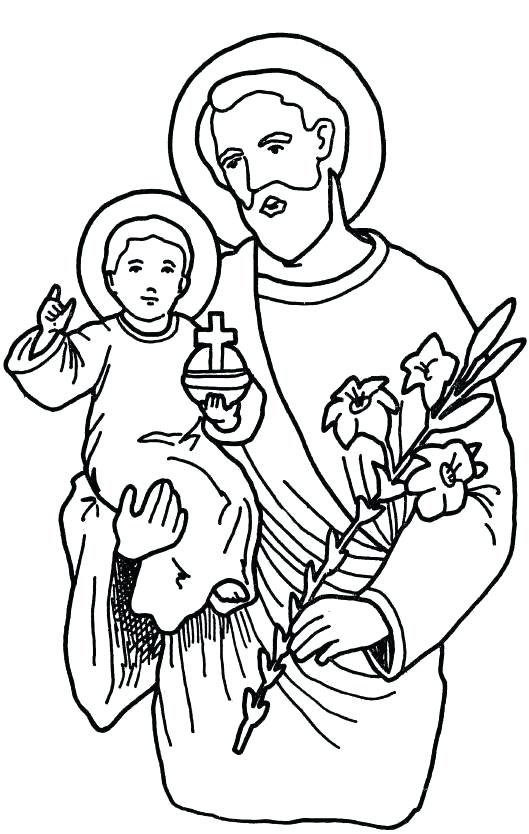 529x834 All Saints Day Holidays And Special Occasions Printable Coloring