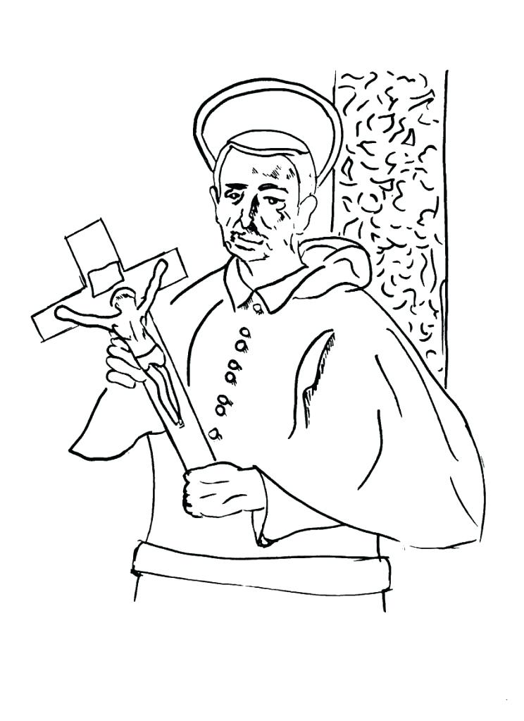 744x1023 All Souls Day Coloring Pages All Saints Day Coloring Pages