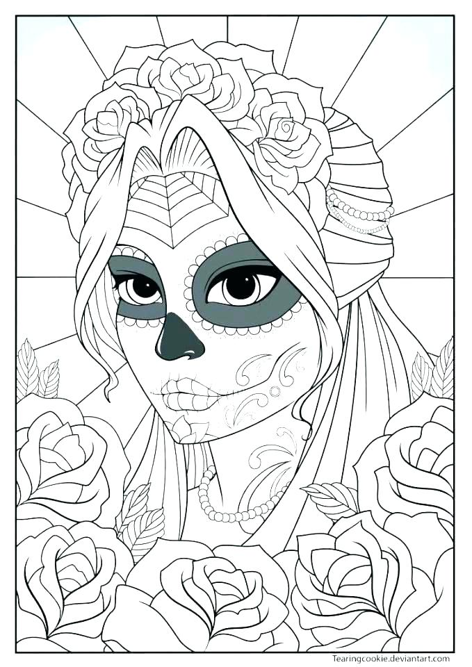 679x960 All Souls Day Coloring Pages