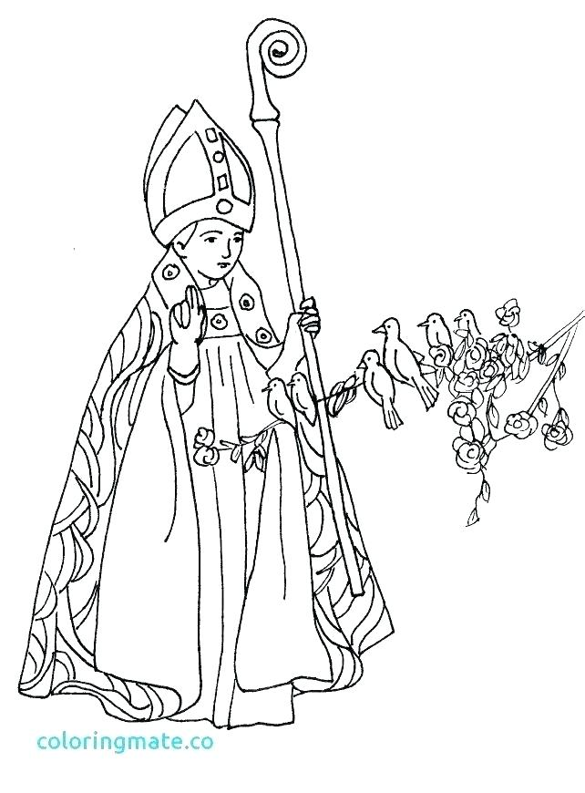 642x870 All Saints Day Coloring Page St Coloring Page Cool Saints Coloring
