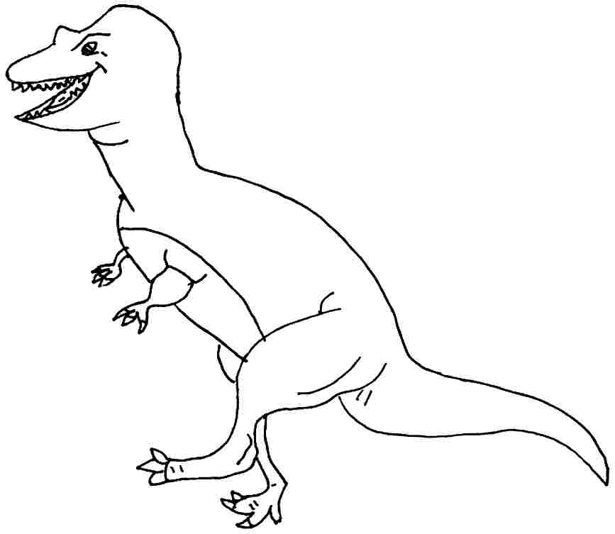 867x753 Allosaurus Coloring Pages Many Interesting Cliparts
