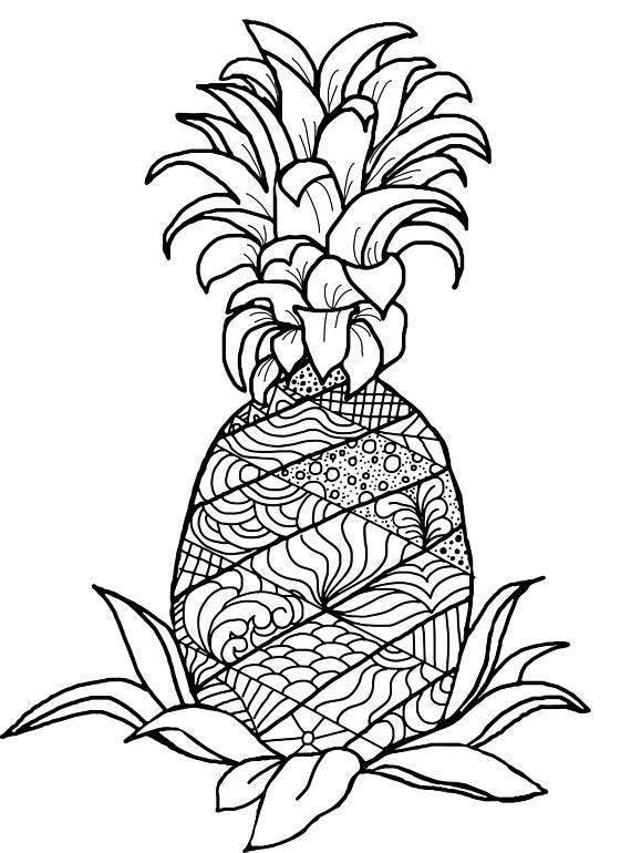 570x770 Adult Coloring Book Color Me Aloha Hawaiian Adult Coloring