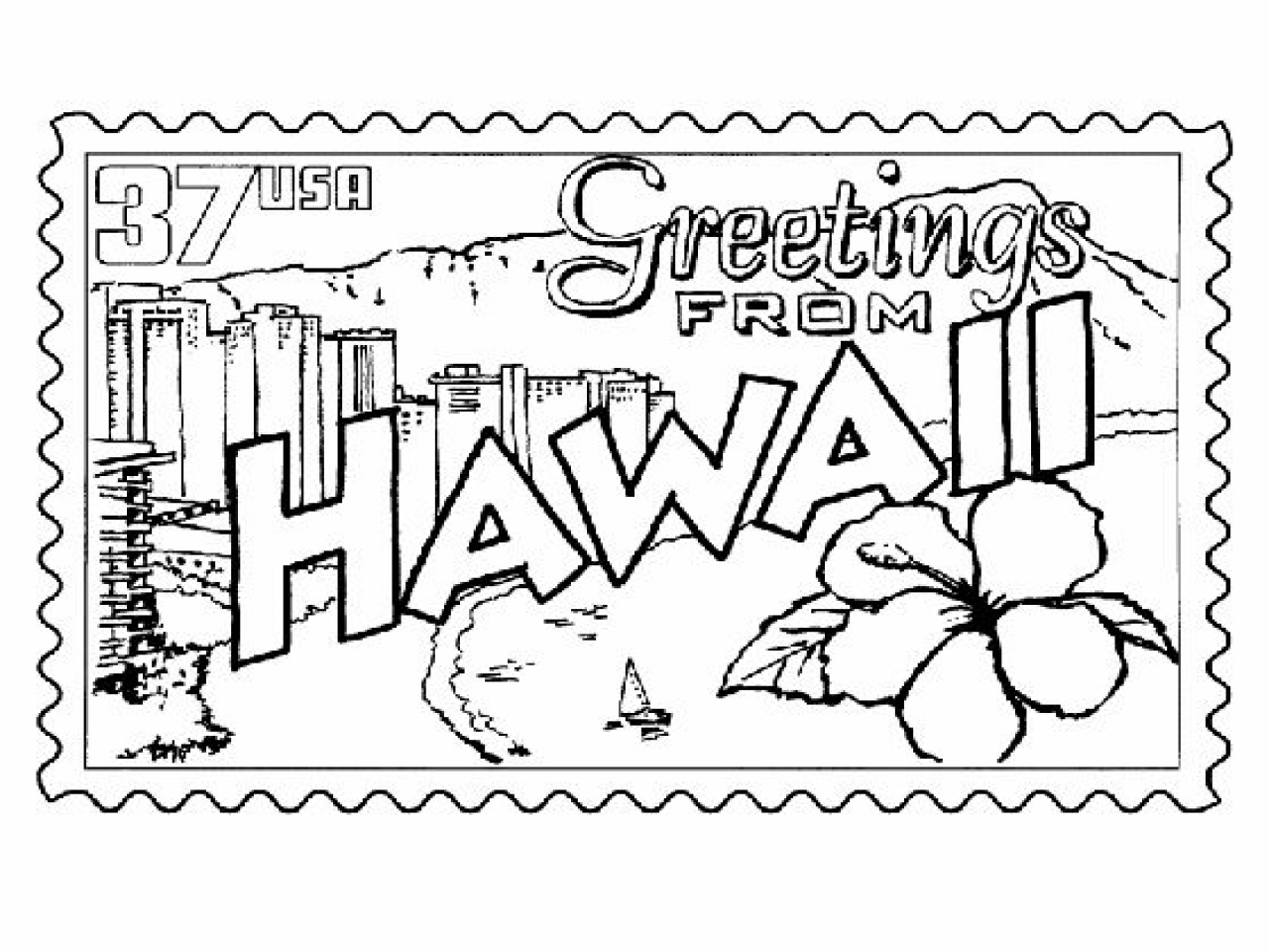 1280x960 Coloring Pages Of Hawaiian Islands Archives For Hawaii And Auto