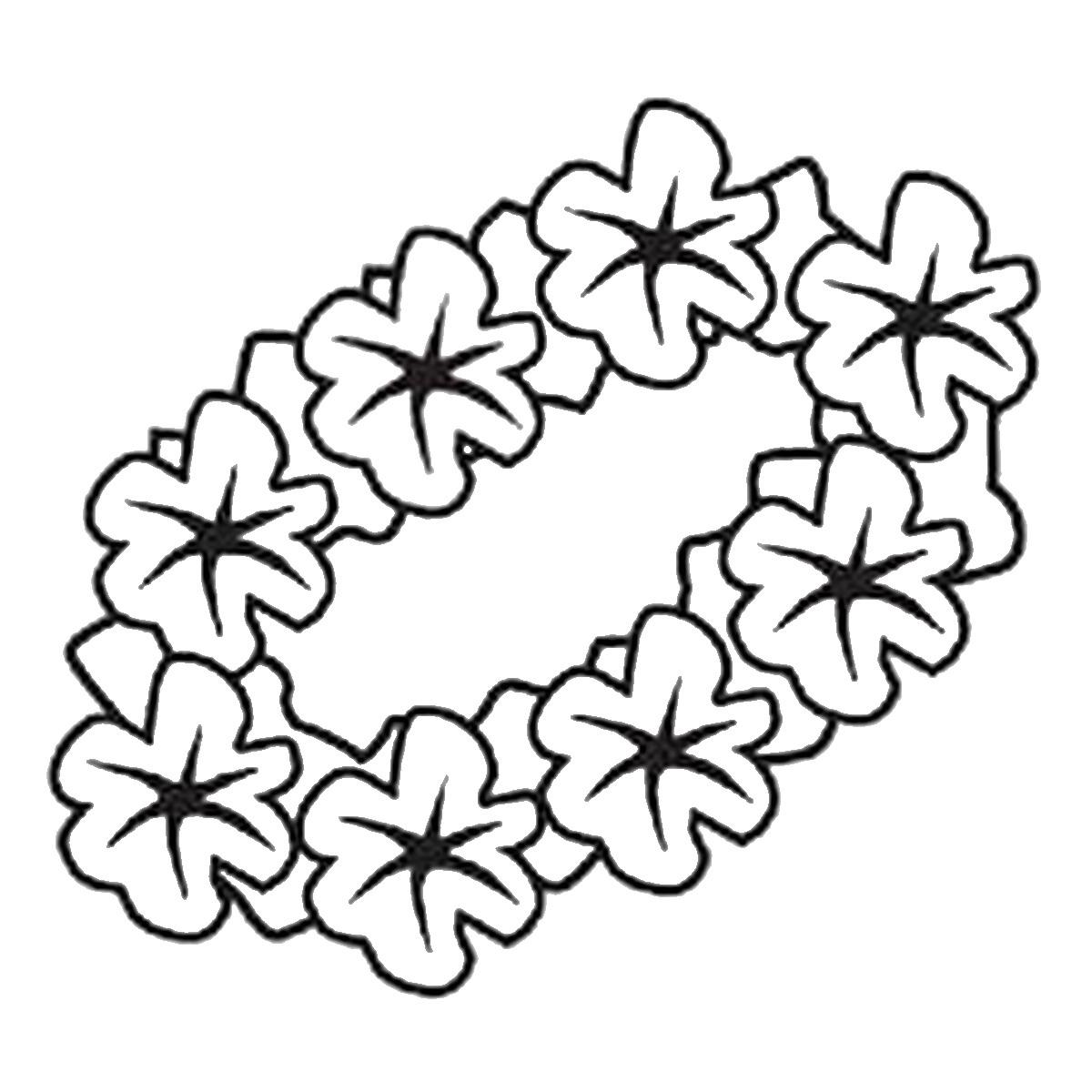1200x1200 Tested Luau Themed Coloring Pages Aloha Hawaii