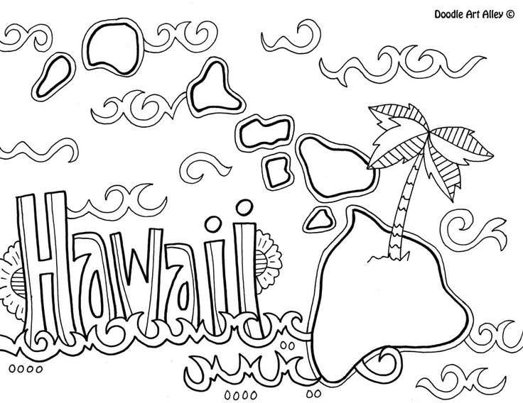 736x568 Aloha Hawaii Coloring Page Free Printable Coloring Pages Coloring