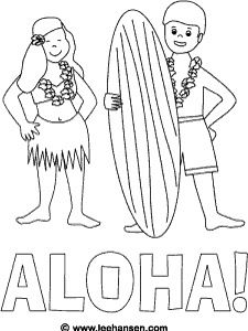 225x300 Aloha Color Sheet Here We Go Around The World
