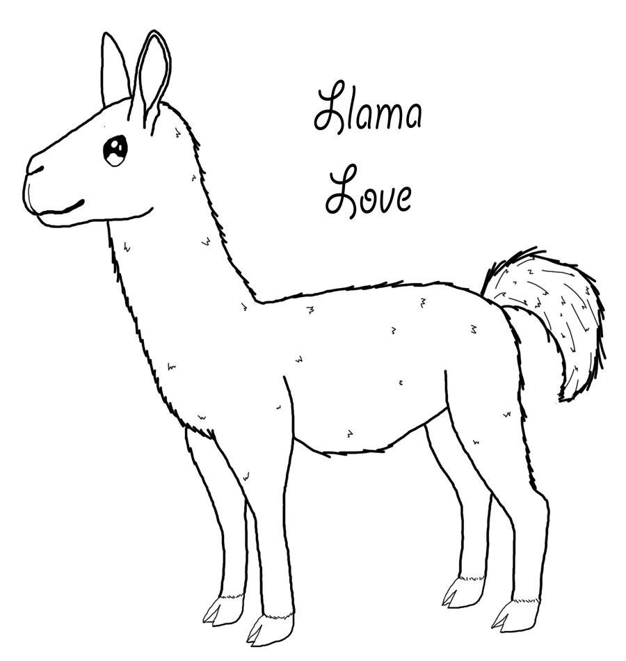 900x950 Alpaca Coloring Pages Wecoloringpage Incredible Llama