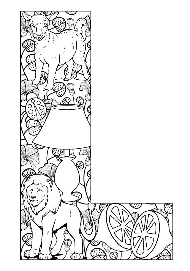 640x912 Alphabet Colouring Pages For Adults Coloring For Adults Alphabet