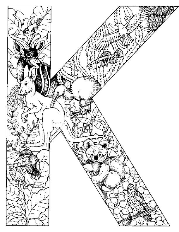 612x792 Coloring Pages Of Alphabet Animals On Kids N Op Kids