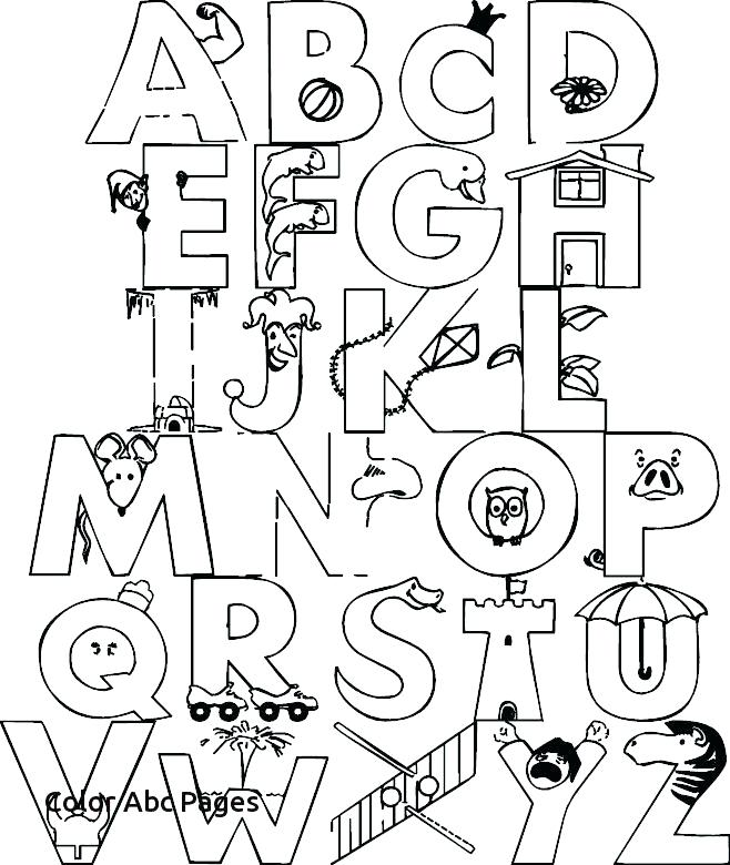 658x780 Alphabet Coloring Pages Pdf Alphabet Coloring Pages Animal