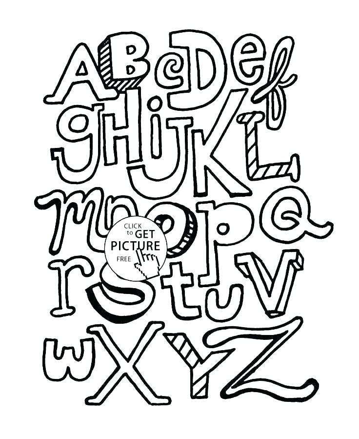 736x899 Alphabet Coloring Pages Printable Alphabet Coloring Page Alphabet